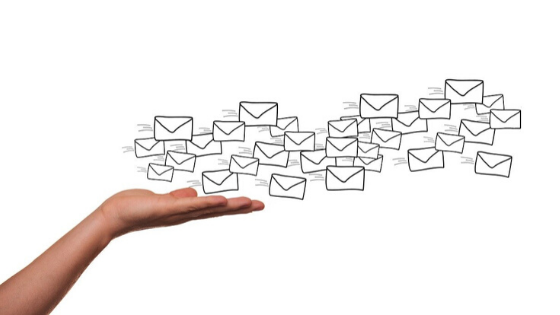 aanhef boven e-mail